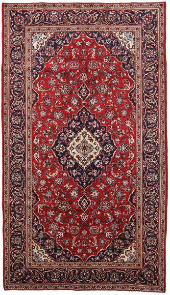 Keshan Matto 150X260 Itämainen Käsinsolmittu Tummanpunainen/Tummanvihreä (Villa, Persia/Iran)