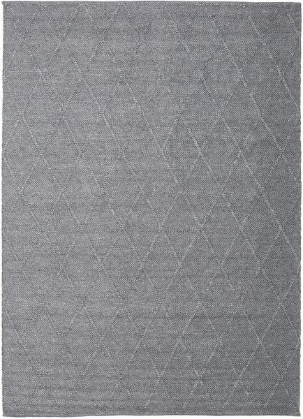 Svea - Charcoal Rug 200X300 Authentic  Modern Handwoven Light Purple/Dark Grey (Wool, India)
