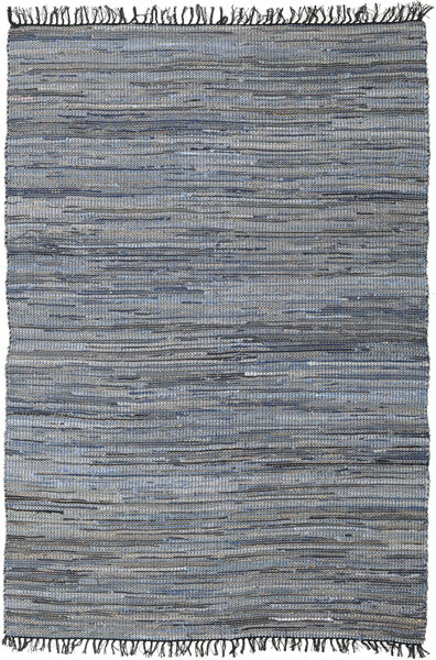 Sonja Mix - Denim/Jute Rug 200X300 Authentic  Modern Handwoven Light Purple/Dark Grey ( India)
