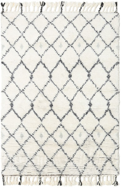 Sauda - Natural Grey Rug 120X180 Authentic  Modern Handknotted Beige/White/Creme (Wool, India)