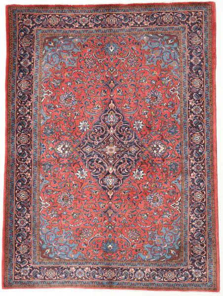 サルーク 絨毯 150X205 オリエンタル 手織り 暗めのベージュ色の/濃い紫 (ウール, ペルシャ/イラン)