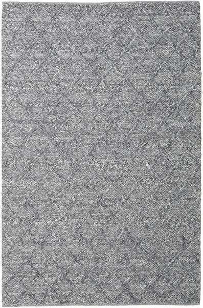 Rut - Σκούρο Γκρι Melange Χαλι 200X300 Σύγχρονα Χειροποίητη Ύφανση Ανοιχτό Γκρι/Ανοικτό Μωβ/Σκούρο Γκρι (Μαλλί, Ινδικά)