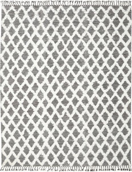 Inez - Dark Brown/White Rug 200X300 Authentic  Modern Handwoven Light Grey/White/Creme/Beige (Wool, India)