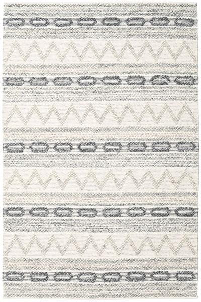 Knut - グレー Mix 絨毯 200X300 モダン 手織り 薄い灰色/ベージュ/暗めのベージュ色の (ウール, インド)