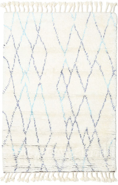 Rana - Natural/Blue Rug 200X300 Authentic  Modern Handknotted Beige (Wool, India)