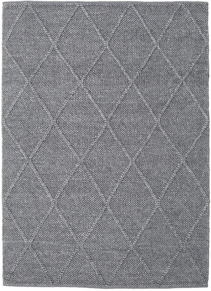 Svea - Charcoal Tappeto 140X200 Moderno Tessuto A Mano Grigio Scuro/Violet Clair (Lana, India)