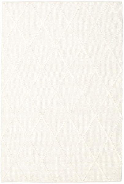 Svea - Ivory Teppe 160X230 Ekte Moderne Håndvevd Beige (Ull, India)