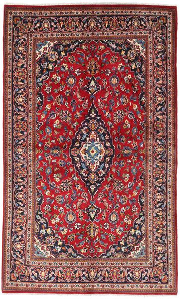 Keshan Matto 130X218 Itämainen Käsinsolmittu Ruskea/Tummanvioletti (Villa, Persia/Iran)