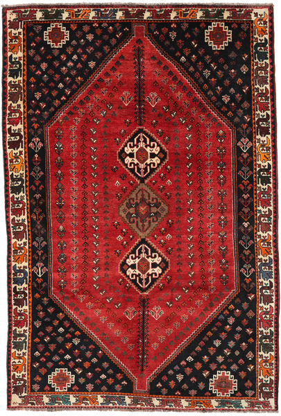 Kaszkaj Dywan 185X275 Orientalny Tkany Ręcznie Ciemnoczerwony/Ciemnobrązowy (Wełna, Persja/Iran)