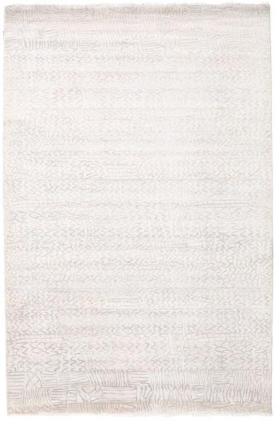Damask インド 絨毯 171X261 モダン 手織り ホワイト/クリーム色/ベージュ ( インド)