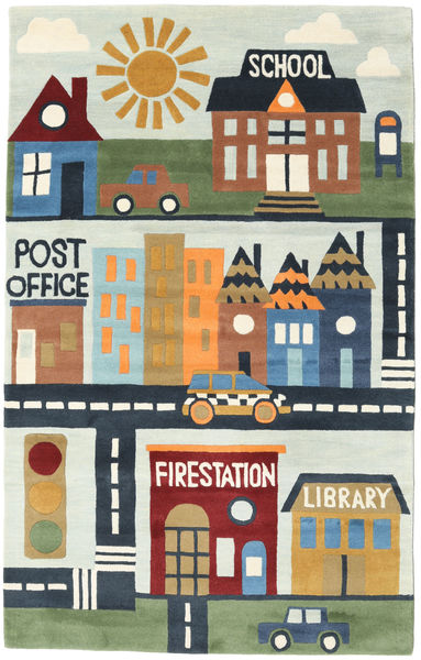 My Town Handtufted teppe SHEE49