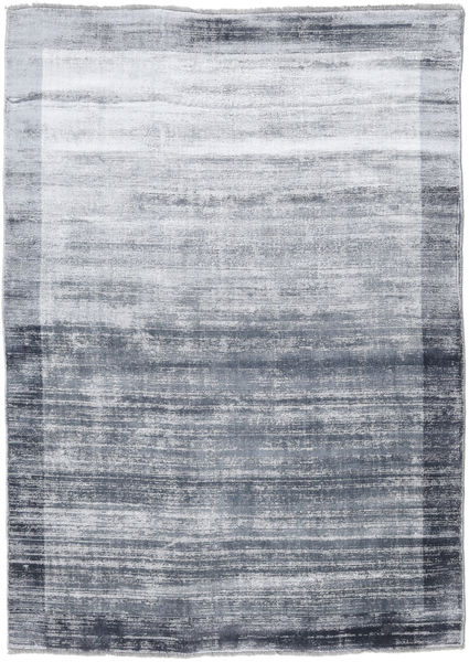 Highline Frame - Charcoal Rug 140X200 Modern Light Grey/Dark Grey ( India)