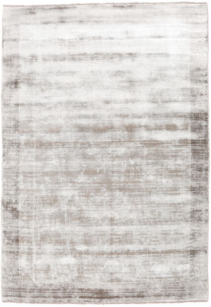 Highline Frame - Warm Grey Rug 170X240 Modern Light Grey/White/Creme/Beige ( India)
