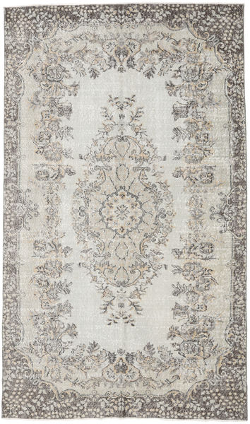 Colored Vintage Rug 168X290 Authentic  Modern Handknotted Light Grey/Dark Beige (Wool, Turkey)