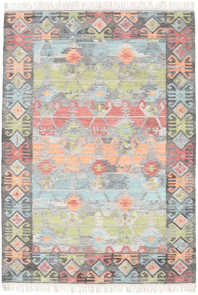 Azteca - Coral Multi Rug 160X230 Authentic  Modern Handwoven Light Grey/Beige (Wool, India)