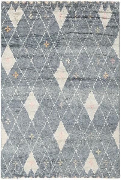 Hatsya - Grey Rug 200X300 Authentic  Modern Handknotted Light Grey/Dark Grey (Wool, India)