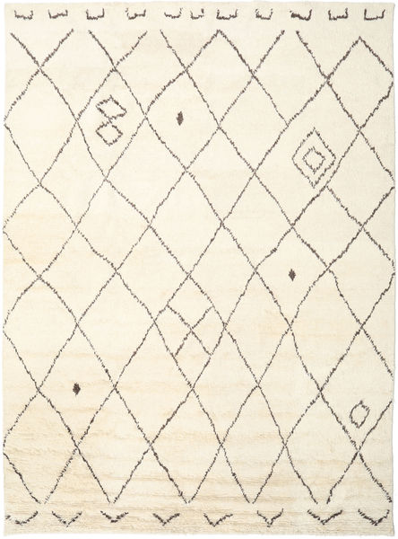 Almaaz - White Rug 200X300 Authentic  Modern Handknotted Beige (Wool, India)