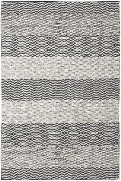 Folke - Braun Teppich  200X300 Echter Moderner Handgewebter Hellgrau/Beige (Wolle, Indien)