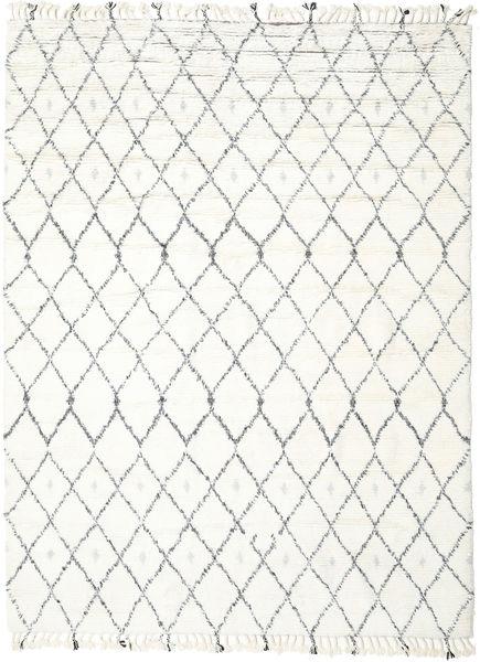 Sauda - Natural Szary Dywan 250X350 Nowoczesny Tkany Ręcznie Beżowy/Biały/Creme Duży (Wełna, Indie)