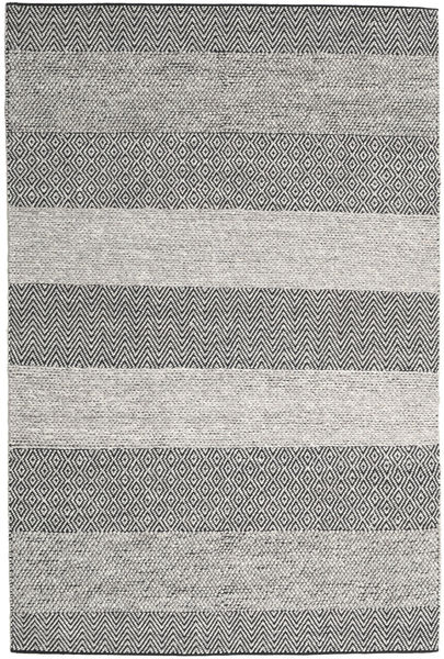 Folke - Grey Rug 200X300 Authentic  Modern Handwoven Light Grey/Beige (Wool, India)
