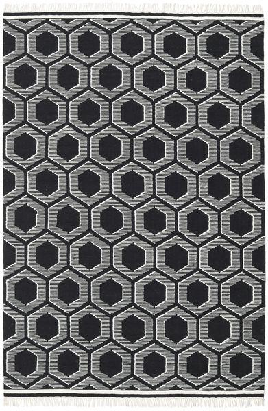 Opti - Schwarz / Weiß Teppich CVD20316