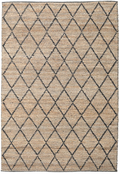 Serena Jute - Natural / Black carpet CVD20272
