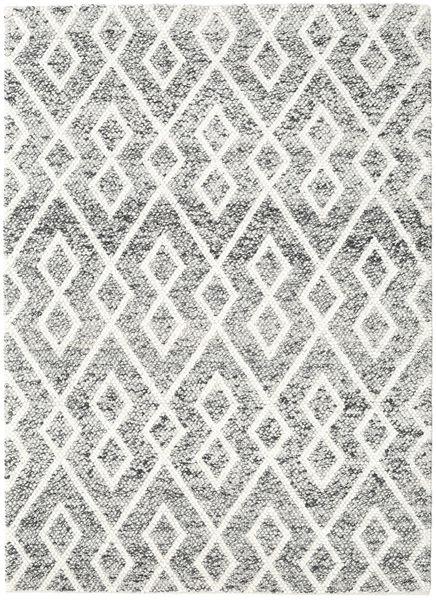 Hudson - Melange Musta Matto 170X240 Moderni Beige/Vaaleanharmaa (Villa, Intia)