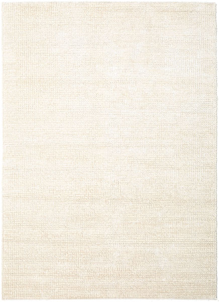 Manhattan - Hvid Tæppe 200X300 Moderne Beige/Lyserød ( Indien)