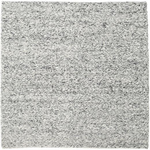 Bubbles - Melange Gris Alfombra 250X250 Moderna Cuadrada Gris Claro/Gris Oscuro Grande (Lana, India)