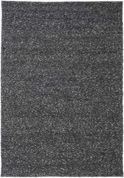 Bubbles - Melange Black Rug 250X350 Modern Dark Grey Large (Wool, India)