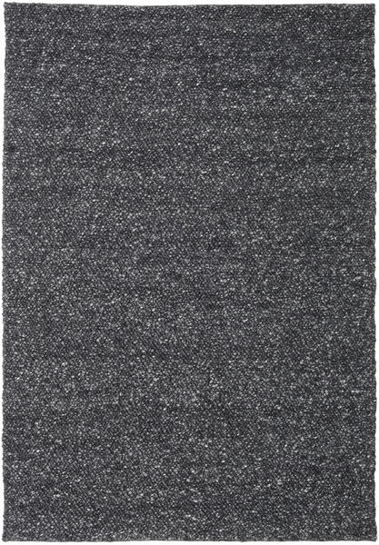 Bubbles - Melange Black Rug 300X400 Modern Dark Grey Large (Wool, India)