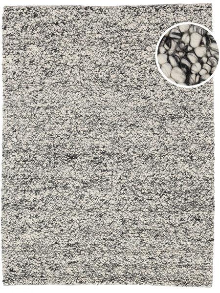 Bubbles - Melange Grå Tæppe 300X400 Moderne Lysegrå/Beige Stort (Uld, Indien)