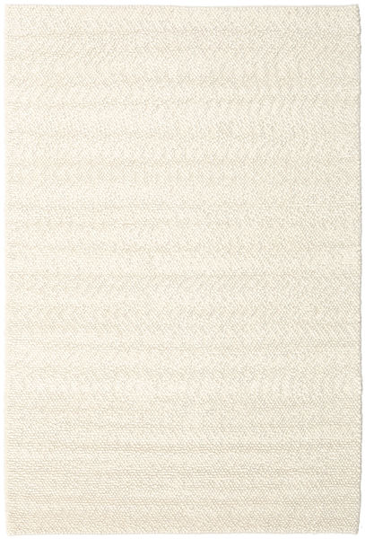Bubbles - Natural Wit Vloerkleed 300X400 Modern Beige/Donkerbeige Groot (Wol, India)