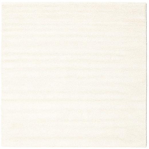 Bronx - Gebroken Wit Vloerkleed 200X200 Modern Vierkant Beige/Wit/Creme (Wol, India)