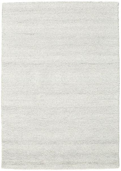 Bronx - 薄い灰色 絨毯 140X200 モダン ベージュ/薄い灰色 (ウール, インド)
