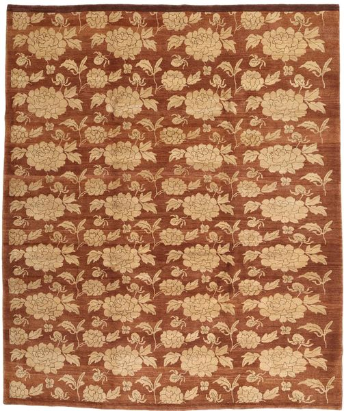 Loribaft Persia Rug 259X303 Authentic  Modern Handknotted Brown/Rust Red Large (Wool, Persia/Iran)
