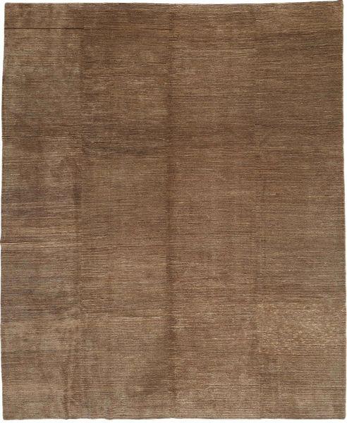 Loribaft Persia Rug 309X364 Authentic  Modern Handknotted Brown Large (Wool, Persia/Iran)