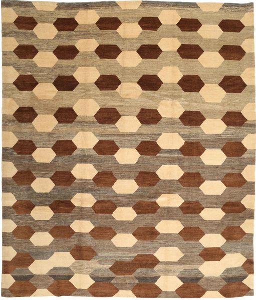 Loribaft Persia Matto 310X365 Moderni Käsinsolmittu Vaaleanruskea/Ruskea Isot (Villa, Persia/Iran)