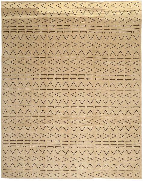 Loribaft Persia Matto 300X376 Moderni Käsinsolmittu Vaaleanruskea/Tummanbeige Isot (Villa, Persia/Iran)