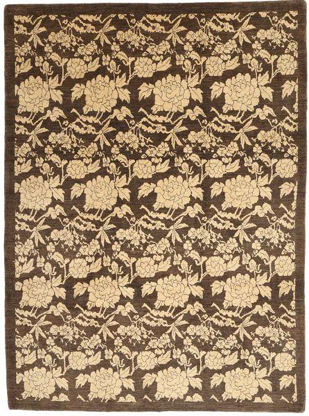 Loribaft Persia Matto 220X301 Moderni Käsinsolmittu Vaaleanruskea/Tummanruskea (Villa, Persia/Iran)