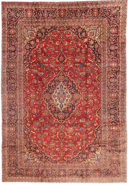 Keshan Rug 285X415 Authentic  Oriental Handknotted Dark Red/Dark Brown Large (Wool, Persia/Iran)