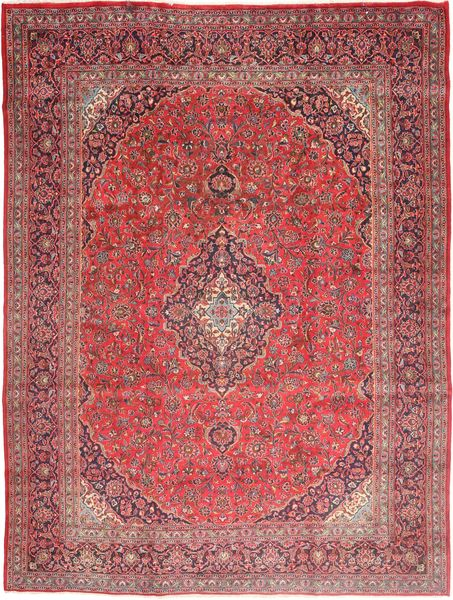Mashad Rug 295X405 Authentic  Oriental Handknotted Brown/Dark Red Large (Wool, Persia/Iran)