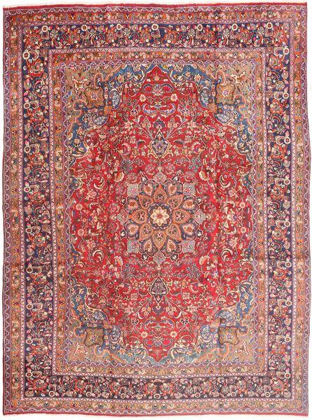 Mashad Rug 285X385 Authentic  Oriental Handknotted Purple/Light Pink Large (Wool, Persia/Iran)
