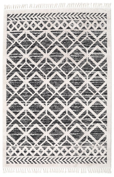Royal - Zwart / Cream tapijt CVD20876