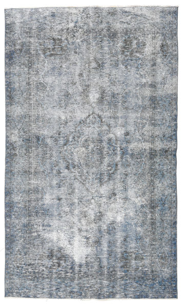 Colored Vintage Rug 142X240 Authentic  Modern Handknotted Light Blue/Light Grey (Wool, Turkey)
