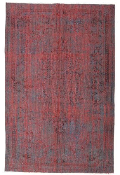 Colored Vintage Dywan 169X260 Nowoczesny Tkany Ręcznie Fioletowy/Ciemnobrązowy (Wełna, Turcja)