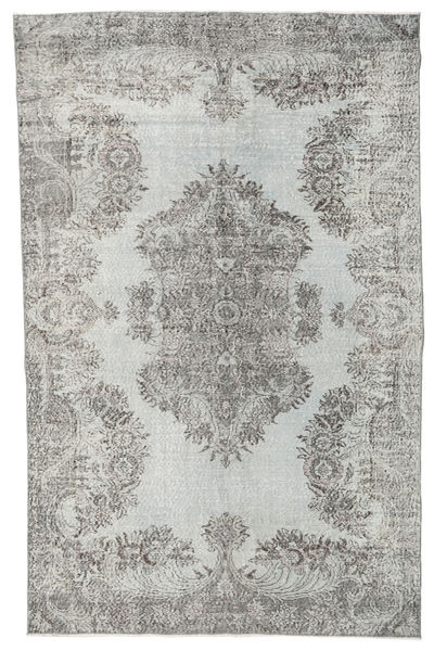 Colored Vintage Rug 185X286 Authentic  Modern Handknotted Light Grey/Beige (Wool, Turkey)