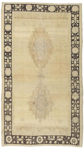 Taspinar Rug 140X246 Authentic  Oriental Handknotted Dark Beige/Yellow (Wool, Turkey)