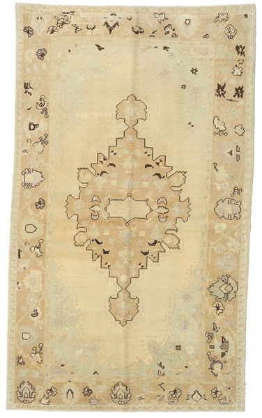 Taspinar Rug 155X265 Authentic  Oriental Handknotted Dark Beige/Beige (Wool, Turkey)