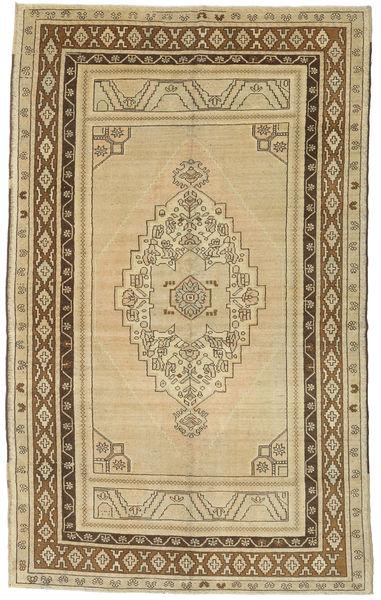 Taspinar Tapis 161X260 D'orient Fait Main Beige Foncé/Marron Clair (Laine, Turquie)